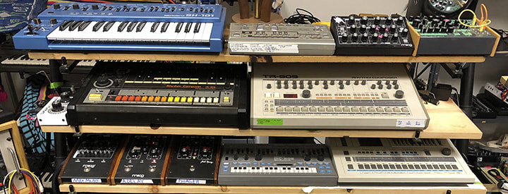 Show Us Your Space: Eddie Ruscha V's Synth Pad
