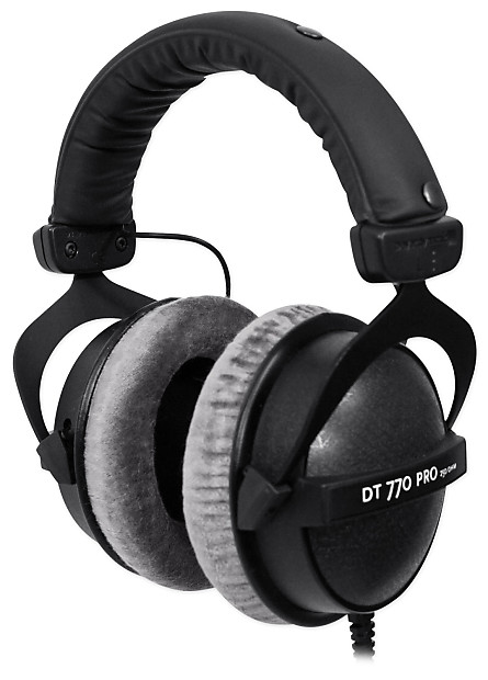 beyerdynamic dt 770 pro 250 closed back reference studio reverb. Black Bedroom Furniture Sets. Home Design Ideas