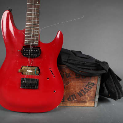 2002 Brawley A224H Red Finish U*Fix Husk Luthier Special for sale