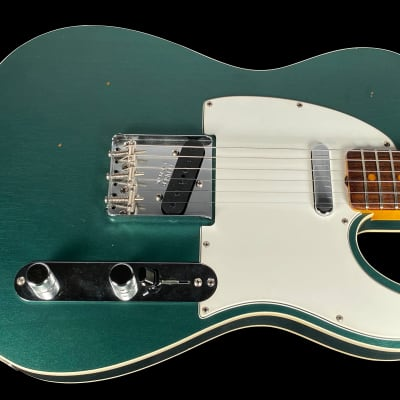2018 Fender Telecaster 1963 Custom Shop '63 Journeyman Relic Tele ~ Faded Sherwood Green Metallic for sale