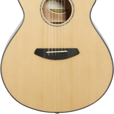 Breedlove Pursuit Concert 12-String CE, Sitka Spruce, Mahogany | Natural Gloss