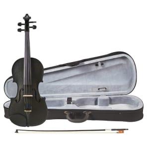 Cremona SV-75BK Premier Novice Series 4/4 Full-Size Violin Outfit