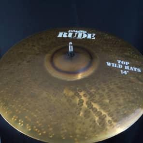 "Paiste 14"" RUDE Wild Hi-Hat (Top)"
