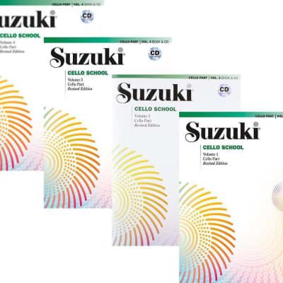 Suzuki Cello School Cello Part & CD, Volume 1 - 4 (Revised)