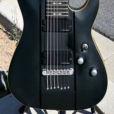Schecter Omen Active -7 Electric 7 String Guitar - Excel Cond - Shop Setup Plays Sounds Looks Great