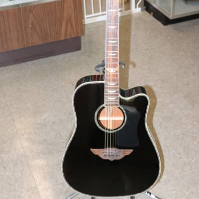 Keith Urban - Player Black Acoustic Guitar w/Case, Capo & Picks for sale