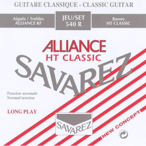 Savarez 540R Alliance HT Classic Normal Tension Classical Guitar Strings