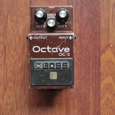 Boss OC-2 Octave (Silver Label)