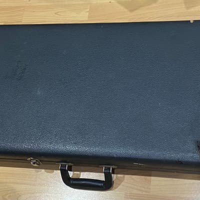 Vintage Black Tolex Bass Case fits Fender Precision Guild Gibson Cheney England Latches