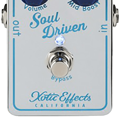 XOTIC SOUL DRIVEN - OVERDRIVE & BOOST for sale