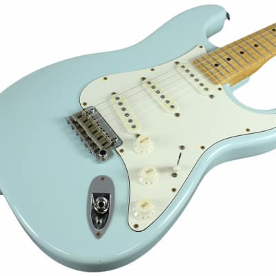 Suhr Classic Antique Guitar, Sonic Blue, Maple, SSS for sale