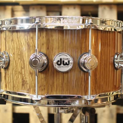 """DW Collector's """"Stretch Oak"""" over Maple VLT 7x14 Snare - SO#1157734 (video demo)"""