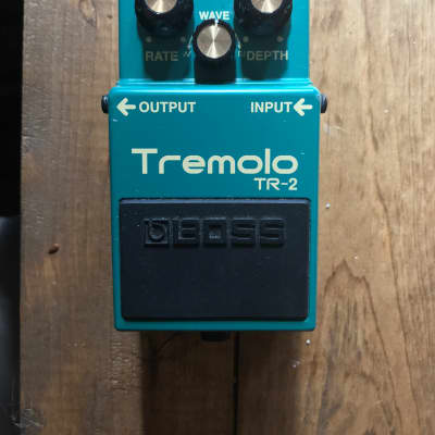 Boss Tremolo TR-2 2005 Green