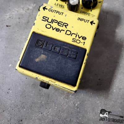Boss SD-1 Super Overdrive (1981 - 1988, Made In Japan)