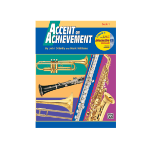 Alfred 00-17088 Accent on Achievement - B-flat Tenor Saxophone (Book 1)