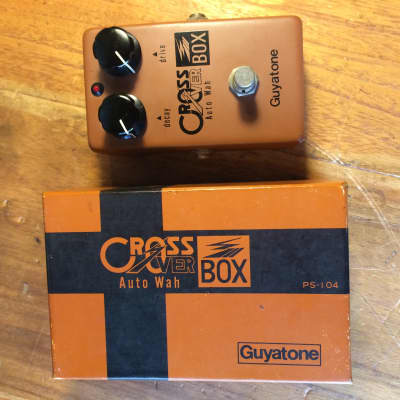 Guyatone PS-104 crossover auto wah, Vintage 1970s freak show in the original box- MIJ quality