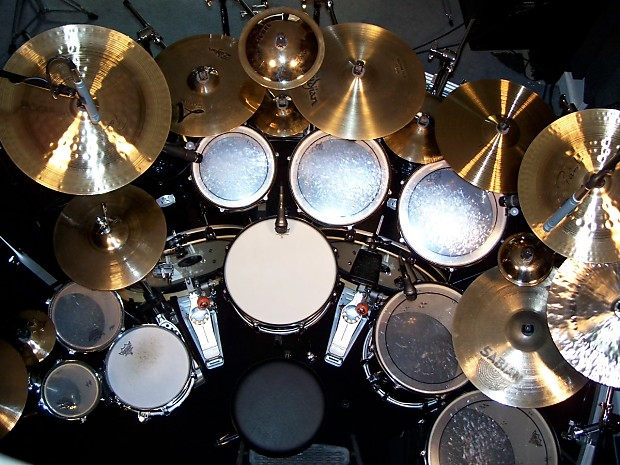 11 Piece PEARL Double Bass Drum Kit