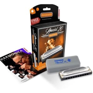 Hohner Special 20 Progressive Harmonica in the Key Of F - German Made Quality