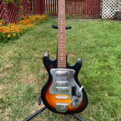 Imperial  3-Pickup Electric Guitar 1960's Sunburst for sale