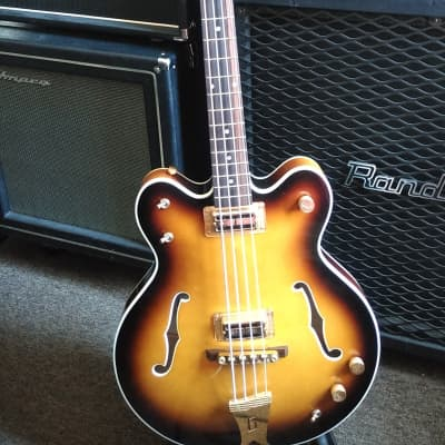 Gretsch G6072 Long Scale Hollow Body Bass for sale