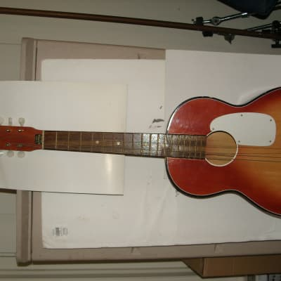 Tempo  Parlor Guitar Sunburst vintage for sale