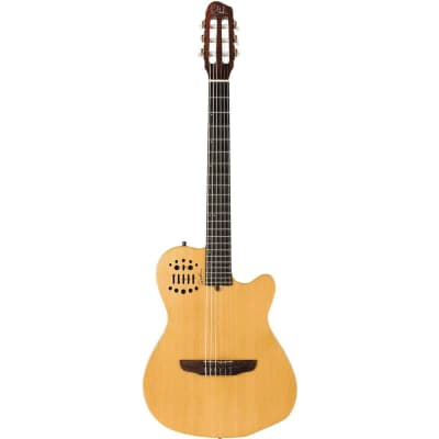 Godin ACS-SA Nylon String Cedar Top Acoustic-Electric Guitar Semi-Gloss Natural (032150) (Demo Unit) for sale