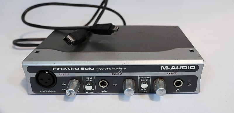 M AUDIO SOLO FIREWIRE WINDOWS 7 64 DRIVER