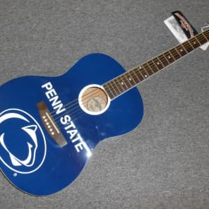 Penn State Acoustic Guitar! Very Cool Guitar For Alumni & Fans! LOOK! for sale
