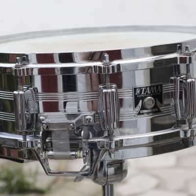 "Tama 8055 Imperialstar Mastercraft Steel 5x14"" Snare Drum 1980 - 1985"