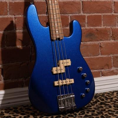 Charvel PRO-MOD SAN DIMAS BASS PJ IV, Mystic Blue