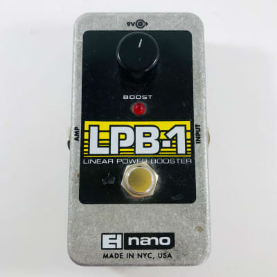 Electro-Harmonix LPB-1 Linear Power Booster Nano  *Sustainably Shipped*