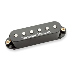 Seymour Duncan STK-S4m Stack Plus for Strat Black Cover