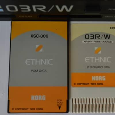 Korg 03 R/W  card UPC-06