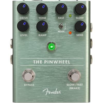 Fender The Pinwheel Rotary Emulator Pedal , Solid Aluminum Stomp Box #0234543000