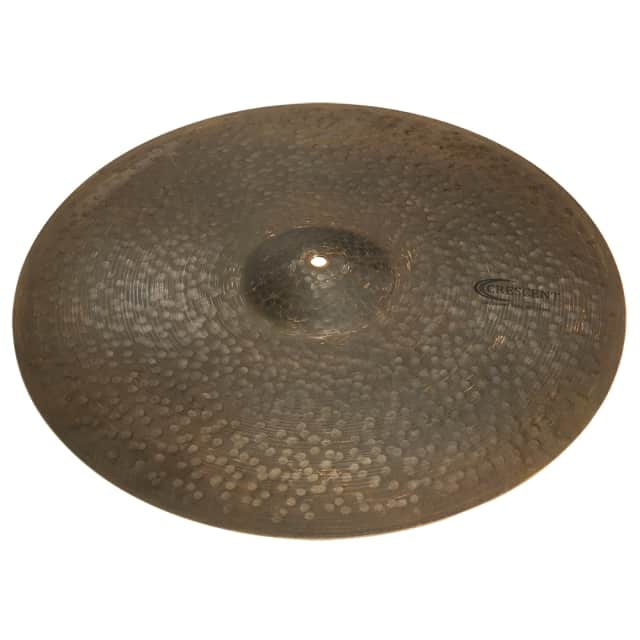 "Sabian EL20RD Crescent Elements Distressed Ride Cymbal Vintage Dark Medium 20"" image"