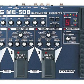Boss ME-50B Bass Multiple Effects with COSM Roland ME-50B for sale