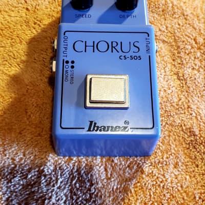 """IBANEZ """"VINTAGE"""" 40 YEARS OLD Chorus CS-505 1980ish Violet"""