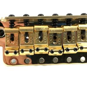 Fender Stratocaster Bridge Tremolo Assembly - Highway 1 Gold 0053275000