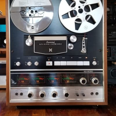 New 2 Replacement BELT SET for use with Sansui SD-5050 Reel to Reel Player
