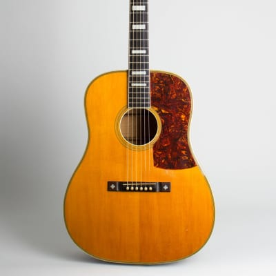 Euphonon Dreadnought Acoustic Guitar, made by Larson Brothers,  c. 1938, period hard shell case. for sale