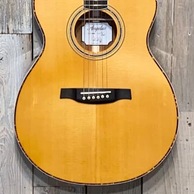 2021 PRS SE Angelus A40E Acoustic-Electric - Natural, Great Tone, Well Balanced Guitar Case Included for sale