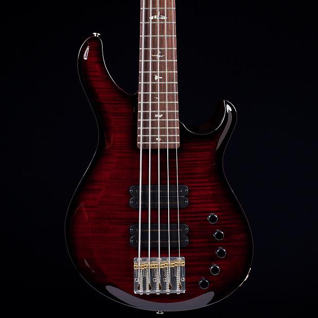 prs grainger bass 5 custom color 10 top s n 216122 prs reverb. Black Bedroom Furniture Sets. Home Design Ideas