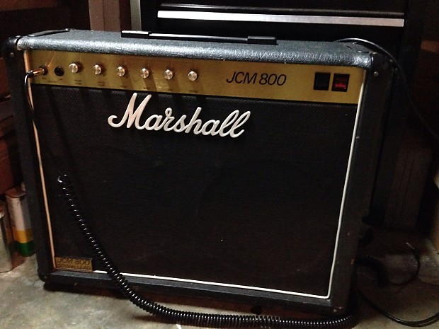 marshall jcm 800 4104 50 watts 2x12 combo 1984 reverb. Black Bedroom Furniture Sets. Home Design Ideas