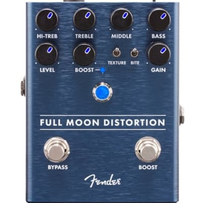 Fender 0234537000 Full Moon Distortion Effects Pedal
