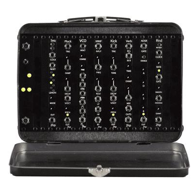2hp Lunchbox Picnic Basket Modular Synthesizer System