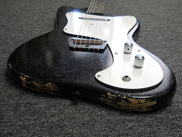 Vintage 1960s Silvertone By Danelectro Electric Guitar