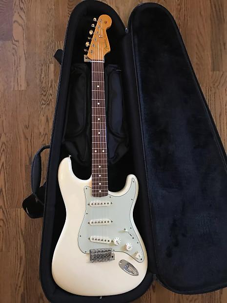 2011 Fender John Mayer Stratocaster Olympic White MINT