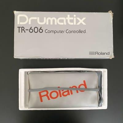 Roland TR-606 Drumatix Analog Drum Machine