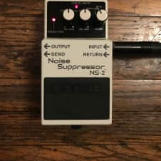 Boss NS-2 Noise Suppressor 2016 White