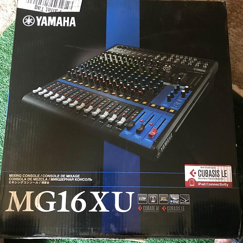 yamaha mg16xu 16 channel analog mixer reverb. Black Bedroom Furniture Sets. Home Design Ideas